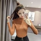 Mock Neck Knit Top 1596