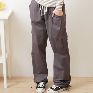Picture of F-DNA Drawstring Cargo Pants 1022882002 (Womens Drawstring Pants, Womens Cargo Pants, F-DNA Pants, Taiwan Pants)