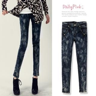 Buy Daily Pink Washed Skinny Jeans 1022198859