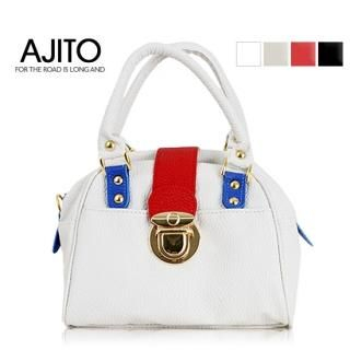Picture of AJITO Faux-Leather Handbag 1022848288 (AJITO, Handbags, Korea Bags, Womens Bags, Womens Handbags)