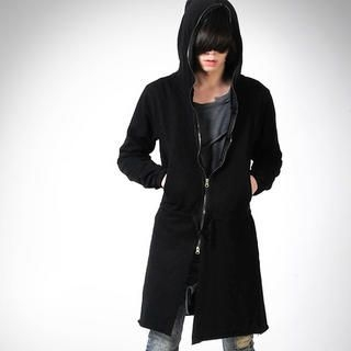 Buy deepstyle Hooded Zip Coat 1022268635