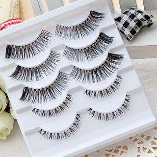 Set: 3 Pairs Upper False Eyelashes + 2 Pairs Lower False Eyelashes 1062657111