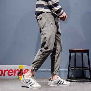 Straight-Cut Pants
