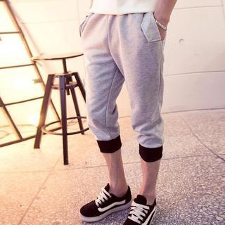 Drawcord Cropped Sweatpants 1036868276