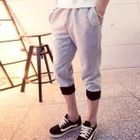 Drawcord Cropped Sweatpants 1596