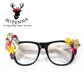 Glasses with Case Black - One Size 1036946650