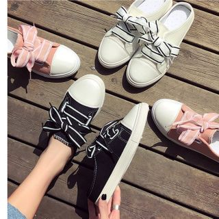 Image of Bow Sneakers Mules