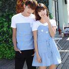 Couple Print T-Shirt / A-Line Dress 1596