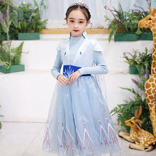 Princess | Costume | Dress | Mesh | Kid