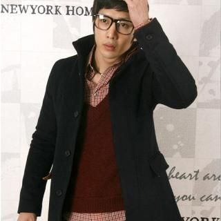 Picture of ROSEMAN Wool Blend Coat 1021734735 (ROSEMAN, Mens Outerwear, Korea)