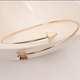 Image of Alloy Arrow Open Bangle