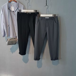 Straight Fit Pants 1053083192