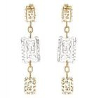18K White  Yellow Gold Dangling Earrings от YesStyle.com INT