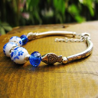 Image of Ceramic Bead Bracelet