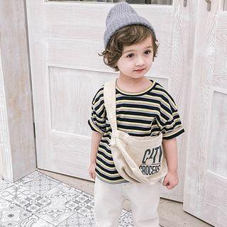 Short-sleeve   T-Shirt   Stripe   Kid