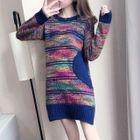 Melange Knit Dress 1596