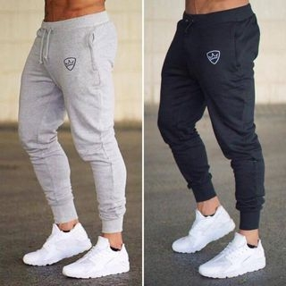 Sports Drawstring Waist Sweatpants 1063560232