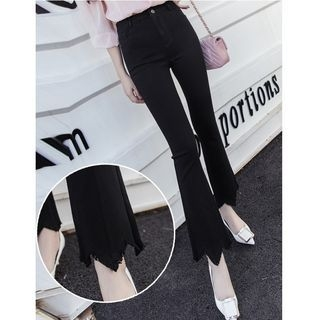 Cropped Boot Cut Pants 1058426382