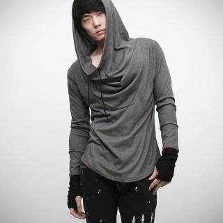 Picture of Peeps Hand Warmer Inset Hooded Pullover 1022314356 (Peeps, Mens Tees, Korea)
