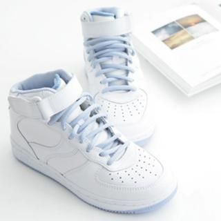 Picture of MALL-LA High Top Sneakers 1022840765 (Sneakers, MALL-LA Shoes, Korea Shoes, Womens Shoes, Womens Sneakers)
