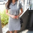 Tie-Waist Polo Dress 1596