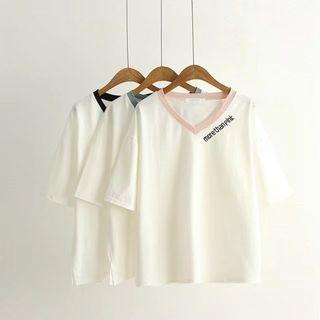 Short-Sleeve V-Neck T-Shirt 1061326412