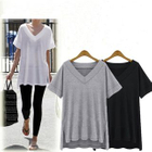 V-Neck Short-Sleeve T-Shirt 1596