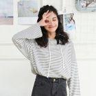 Striped Long-Sleeve T-Shirt 1596