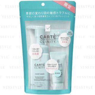 Kose - Carte Clinity Wash And Cleansing Kit 1 pc 1066297587