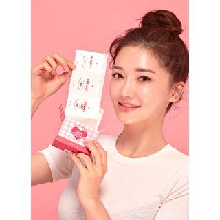 Image of beige chuu - Pink Pharmace Coin Mask 12pcs