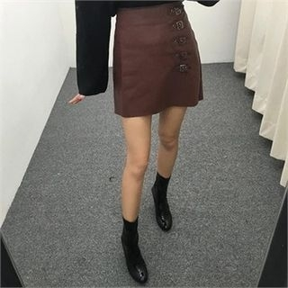 belted-accent-faux-leather-skirt