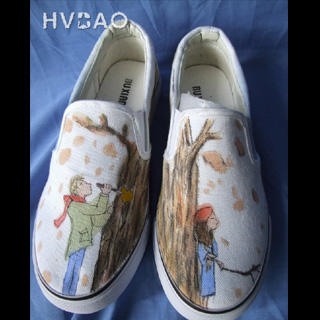 Buy HVBAO Autumn Love Slip-Ons 1016480388