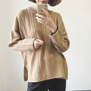 Rib Knit Sweater 1062028221