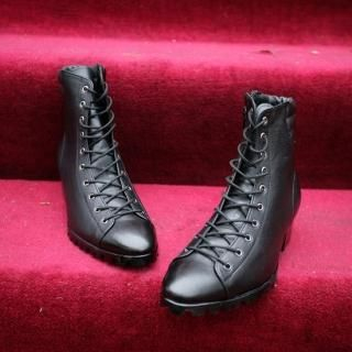 Picture of ISNOM Lace-Up Boots 1022069915 (Boots, ISNOM Shoes, Korea Shoes, Mens Shoes, Mens Boots)