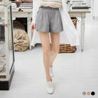 Pleated Chiffon Shorts 1596