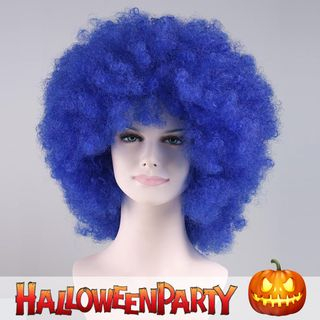 Halloween | Bubble | Purple | Party | Size | Wig | One