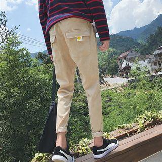 Corduroy Straight Fit Pants
