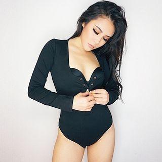 Long-Sleeve Bodysuit
