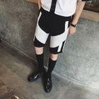 Wie Leg Color Block Shorts 1596