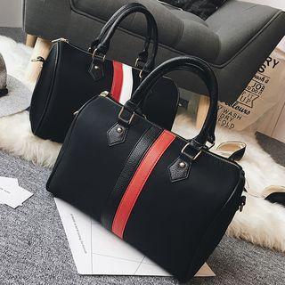 Colour Block Faux Leather Shoulder Bag 1055114826