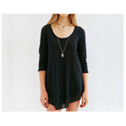 3/4-Sleeve Long T-Shirt 1596