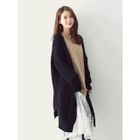 Open-Front Ribbed Cardigan 1596