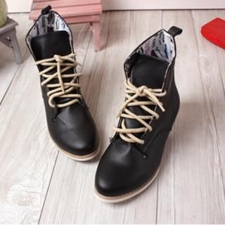 Buy Woorisin Laced up Boots 1021435103