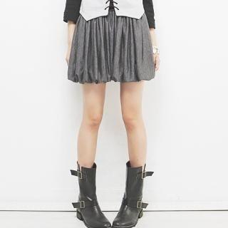 Buy Beccgirl Bubble-Hem Miniskirt 1021238395