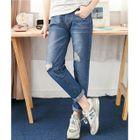 Distressed Jeans Blue - M от YesStyle.com INT