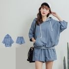 Set: Hooded Top + Shorts 1596