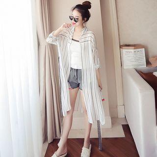 Striped Long Shirt 1066172740