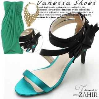 Buy ZAHIR Bow-Accent Satin Sandals 1022690232