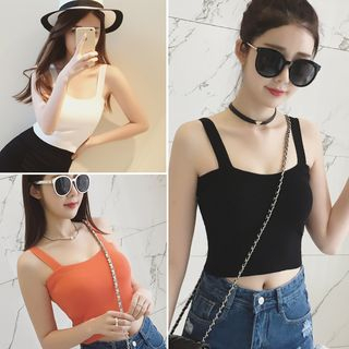 Knit Sleeveless Top 1065401138