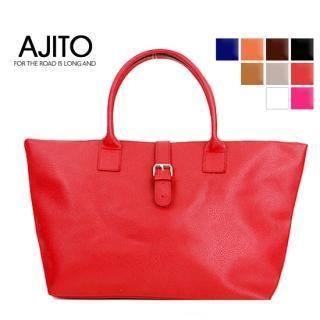 Buy AJITO Faux-Leather Tote 1022417662